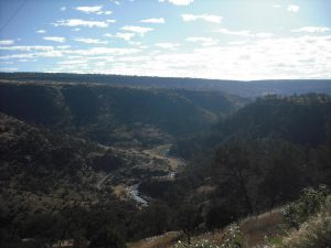 Río Chico desde la carretera