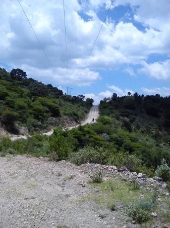 Camino tierroso