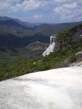 La cascada pétrea de Hierve el Agua