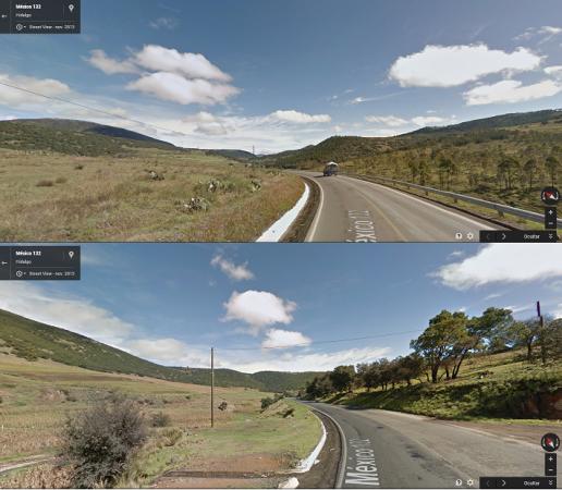 Imágenes cortesía de Google Maps