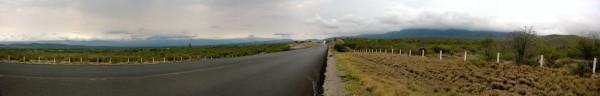 Muro de montañas