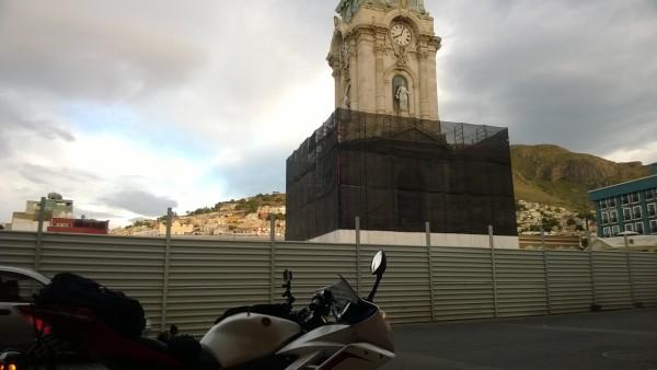 Reloj monumental en Pachuca.