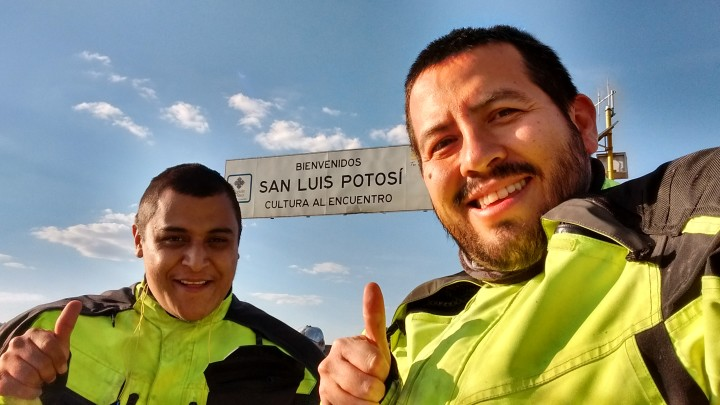 Llegando a San Luis