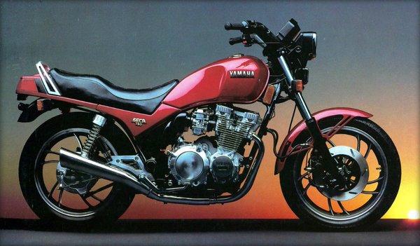 Yamaha Seca XJ 750  1981