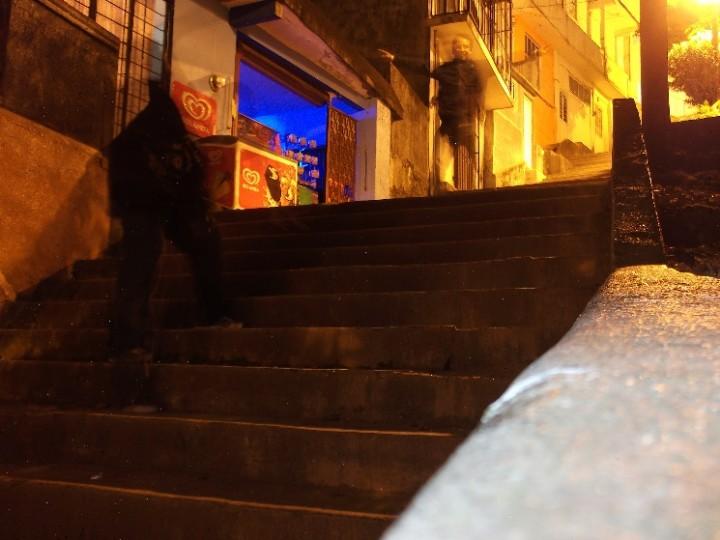 Más escaleras