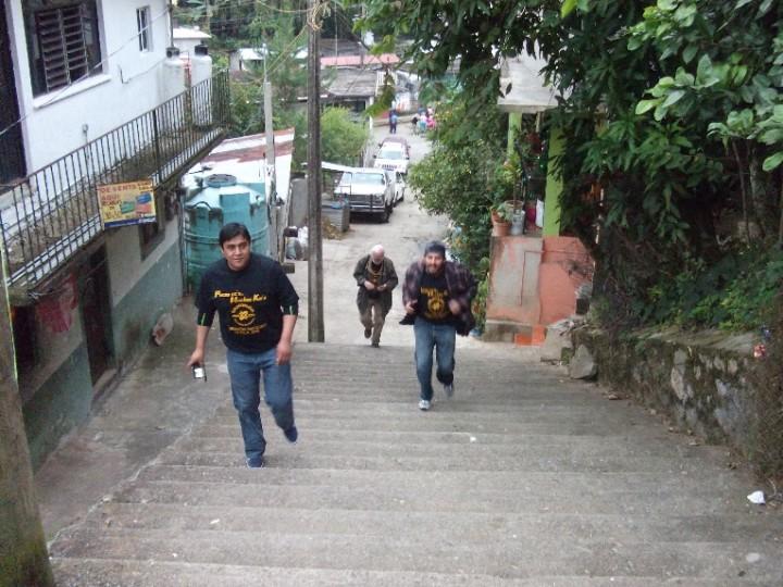 Escaleras y más escaleras