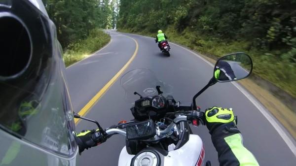 En el camino al Nevado