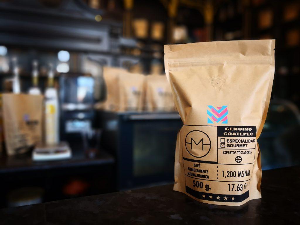 De venta en café chiquito
