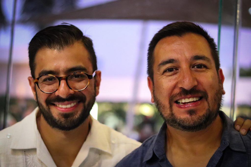 Héctor y Edgardo