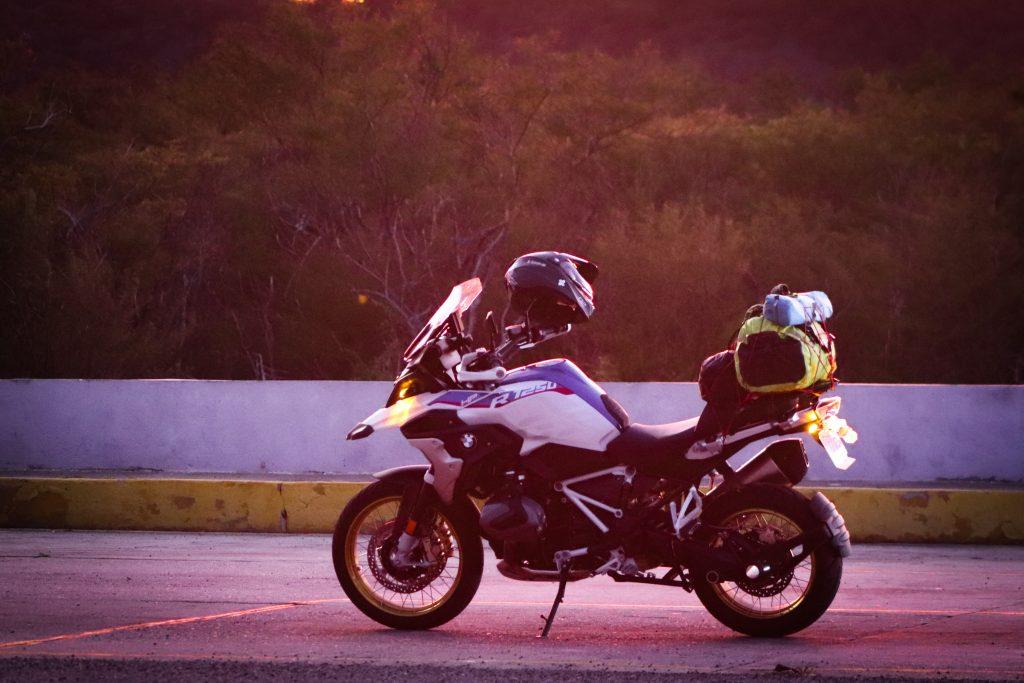 Es una gran moto